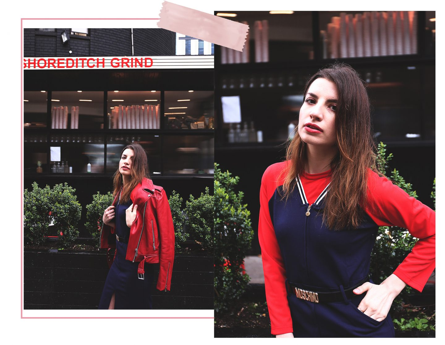 Trend: Navy Blue & Cherry Tomato