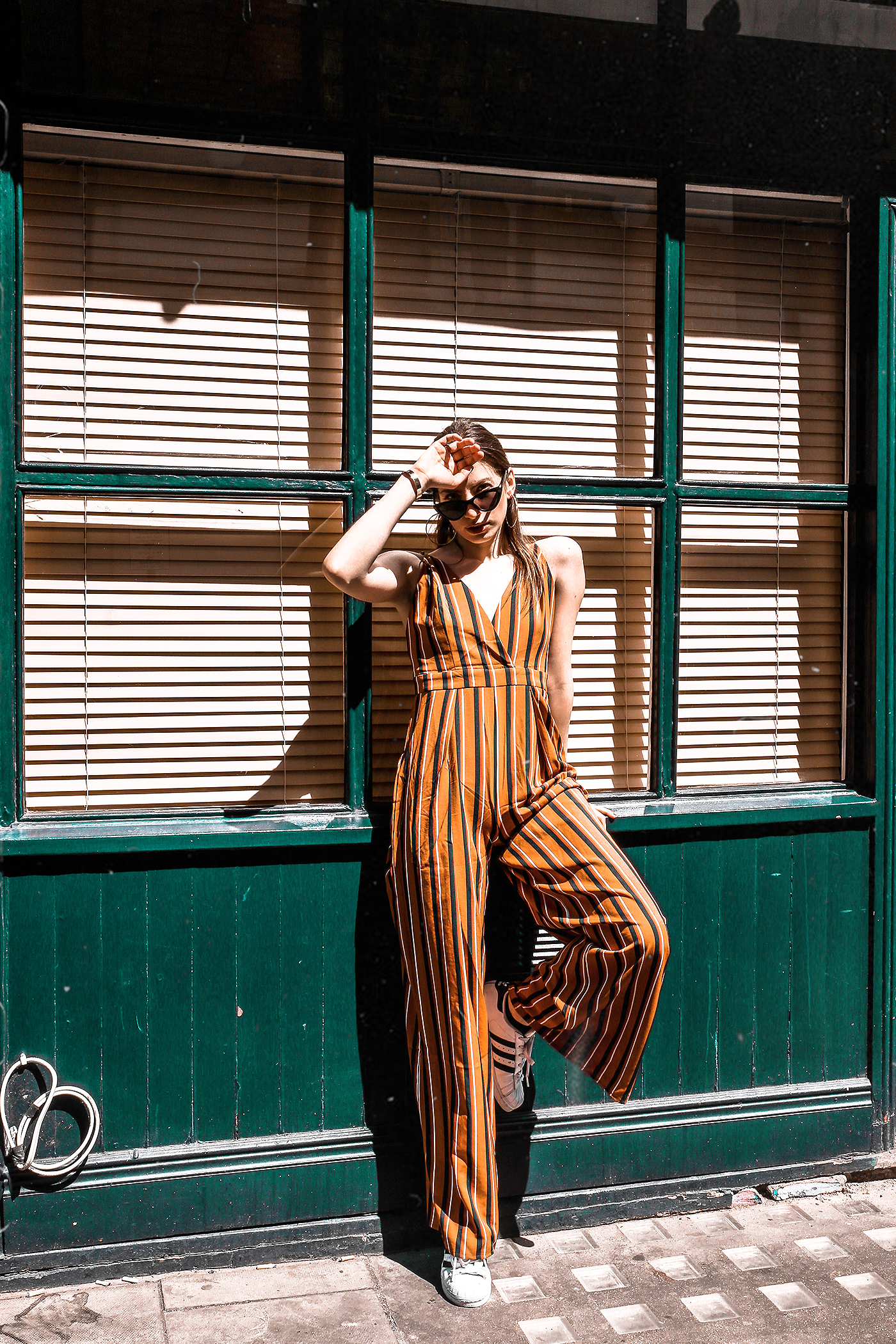 Trend: The Striped Jumpsuit