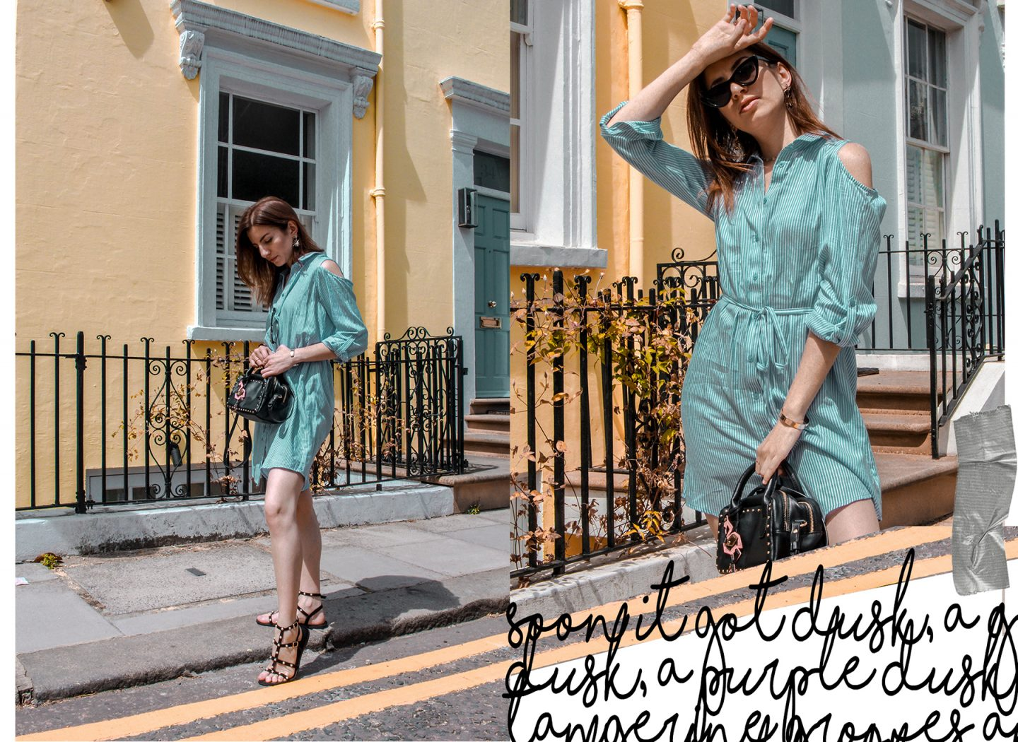 How to Wear a Shirt Dress for Summer