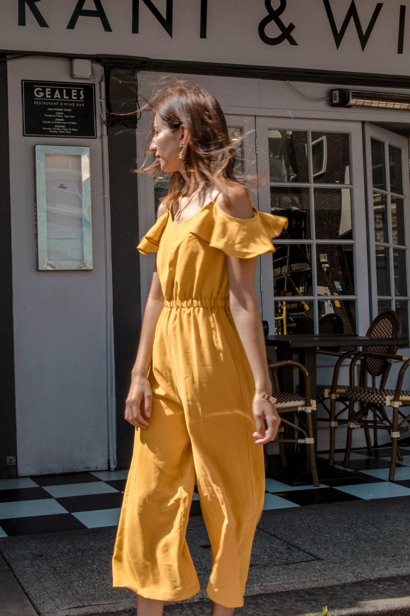 The Yellow Jumpsuit You Need Right Now