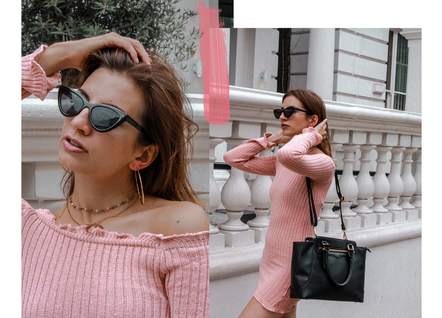 How to wear The Pink Ribbed Dress