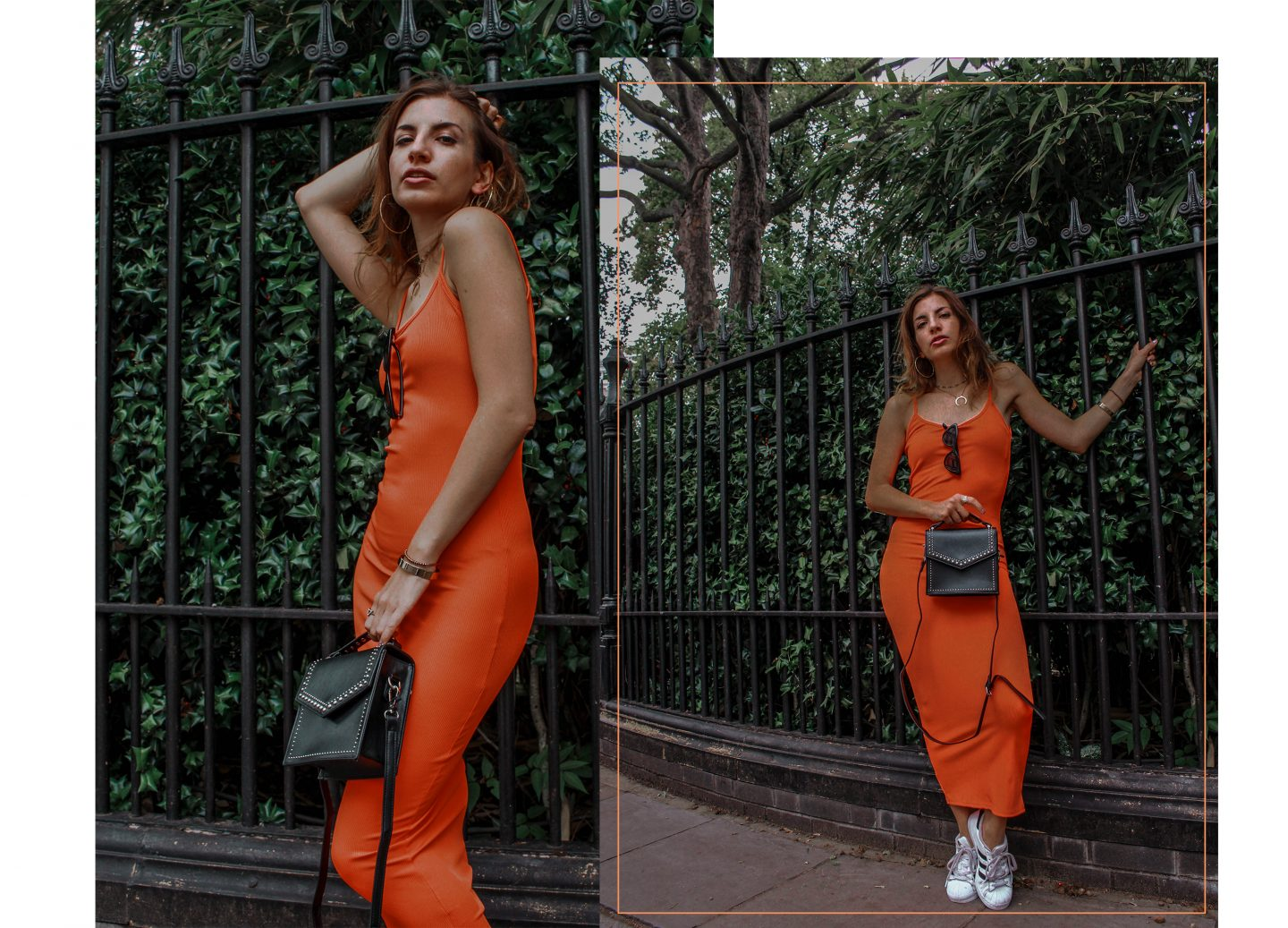 The Orange Trend: Dress or Jumpsuit?