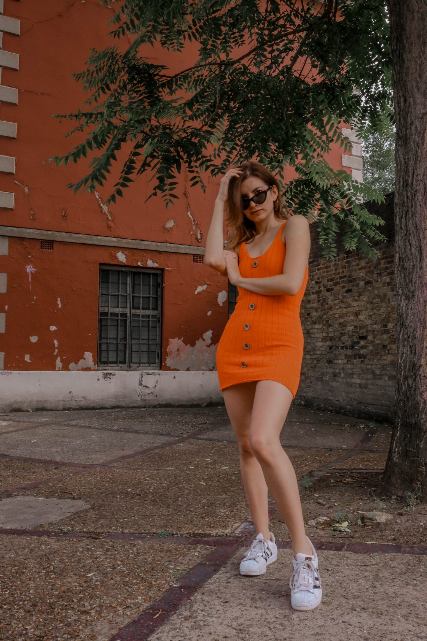 The Orange Mini Dress to Not Forget Summer