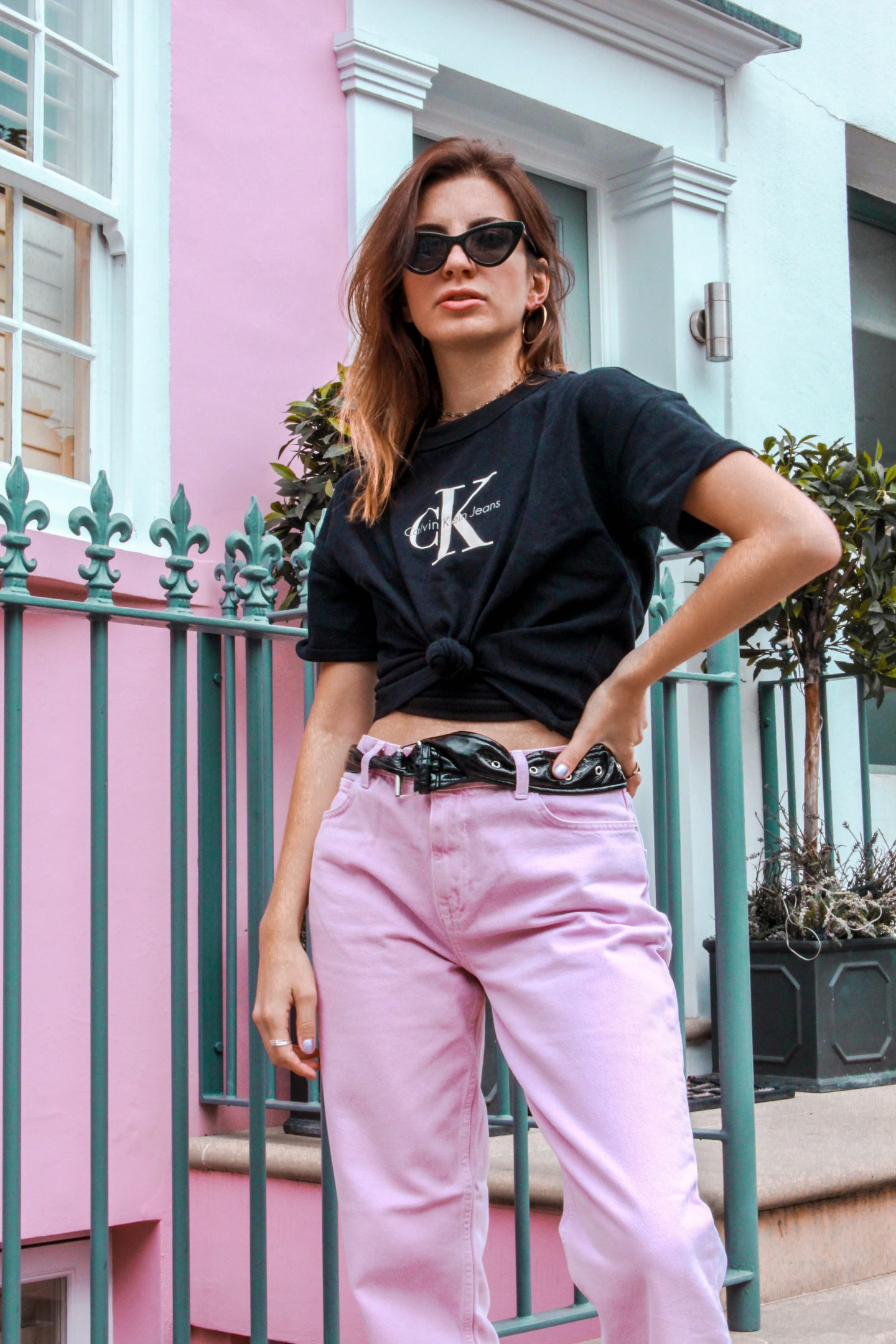 How to get the 90's look in Pink