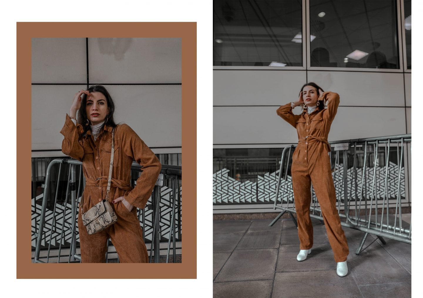 How to Style the Corduroy Jumpsuit Trend