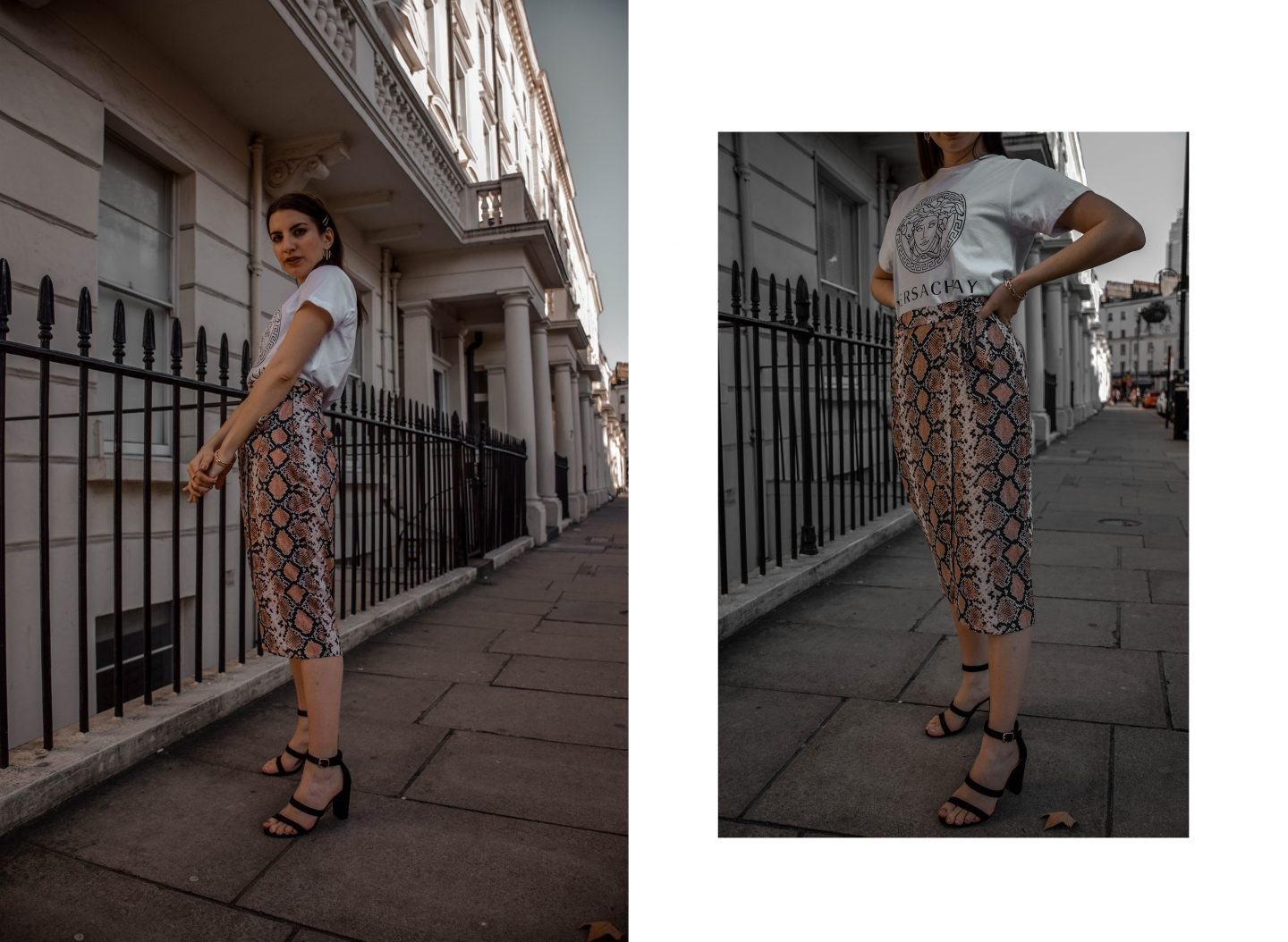 How to Style Snakeprint for Spring 2019