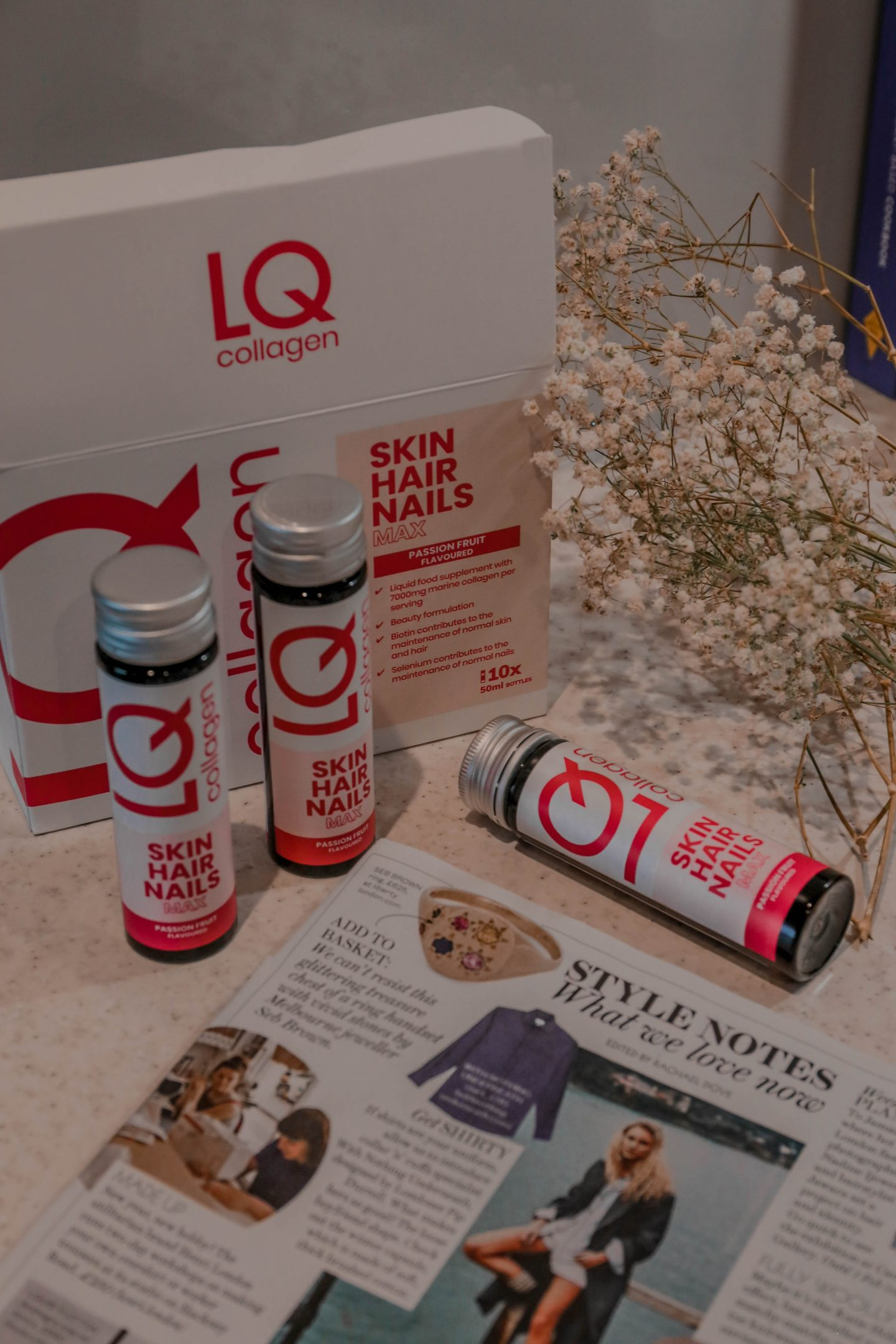 Review: HEALTH SUPPLEMENTS by LQ Collagen