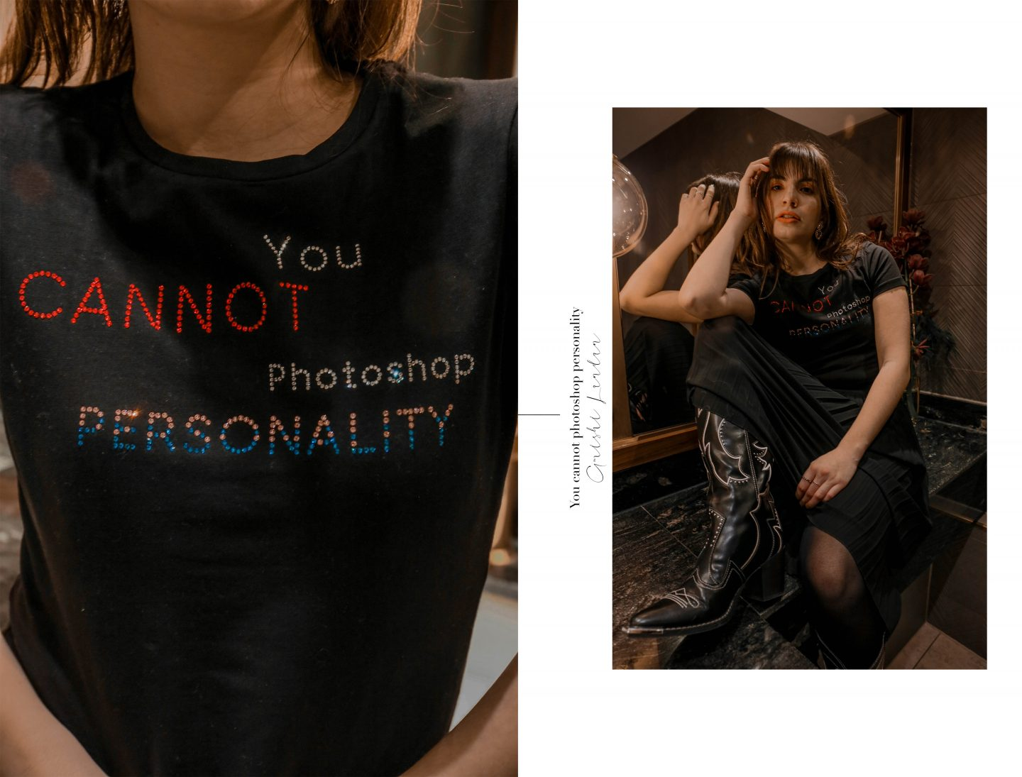 You Cannot Photoshop Personality w/ Amishi London